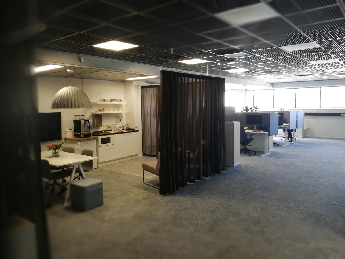 toimistotilojen saneeraus ja uudistus